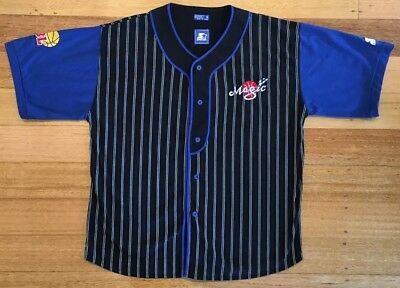 NBL South East Melbourne Magic Starter Baseball Style Jersey - XL