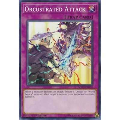 YU-GI-OH! SOUL FUSION * SOFU-EN070 Orcustrated Attack