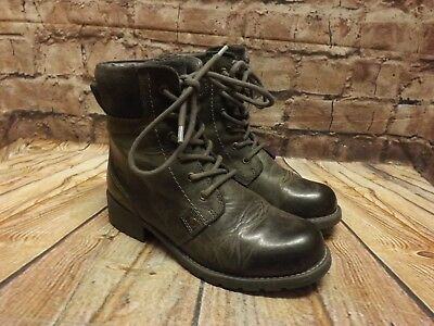8fd5b998a83a6 Womens Clarks Orinoco Spice Grey Nubuck Leather Zip Up Ankle Boots UK 4 E  EUR 37