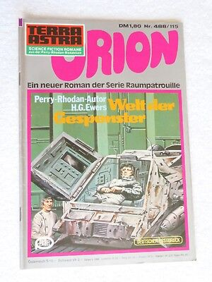 Pabel TERRA ASTRA Science Fiction SF Raumpatrouille ORION Nr. 488 / 115