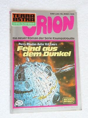 Pabel TERRA ASTRA Science Fiction SF Raumpatrouille ORION Nr. 452 / 106