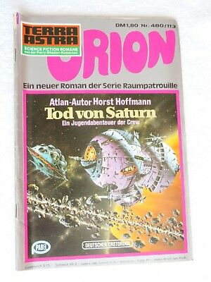 Pabel TERRA ASTRA Science Fiction SF Raumpatrouille ORION Nr. 480 / 113