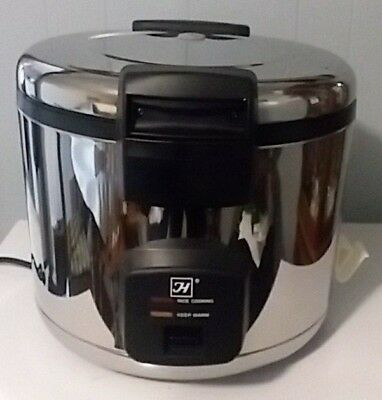 1 Commercial Thunder Group SEJ60000 Electric Rice Cooker Warmer 33 Cups 66 Bowl