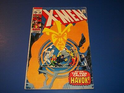 Uncanny X-men #58 Silver Age 1st Havok in Costume Huge Key Neal Adams Wow
