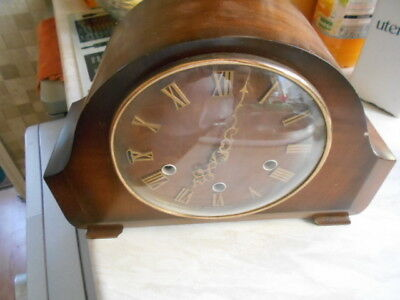 smiths mantel clock with key (spares/repairs)