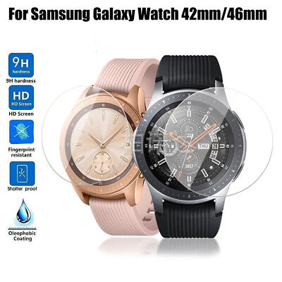 Tempered Glass Screen Protector Protective Film for Samsung Galaxy Watch 46/42mm
