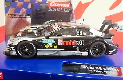 "Carrera Digital 132 30866 Audi RS 5 DTM ""R.Rast, No.33"" 20030866 NEU BOX"
