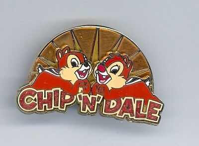 Disney Signature Collection Chip 'n' Dale Together Sunrise Logo LE 750 Pin