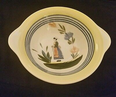 Blue Ridge Lyonnaise Bowl Woman Southern Potteries