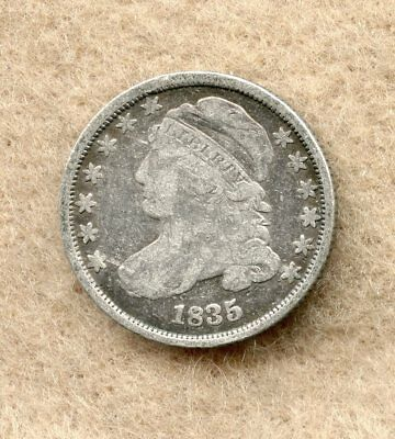 1835  ~ Capped Bust Dime ~ G