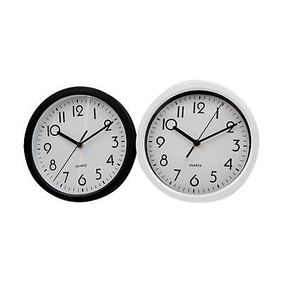 Traditional Wall Clock Numerical Face 23cm 9'' Office Home