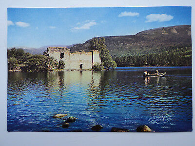 Dixon's large old colour PC Loch an Eilean, Aviemore, Inverness-shire. unposted