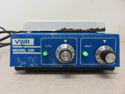 "VWR / Thermolyne 320 Hotplate Stirrer SP35825 w/ 7"" x 7"" Top"