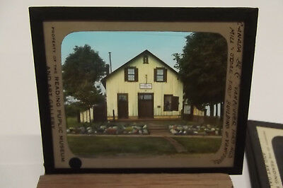 Canada Hastings Mill & Store First Building Color Magic Lantern Slides Bb147