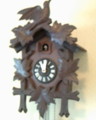 nice working German Black Forest cuckoo clock traditional style  XMAS IN 66 DAYS