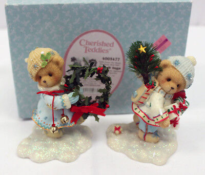"Cherished Teddies, Erik and Inga - ""Gifts from the Heart"", ""The Beary Best Part"""