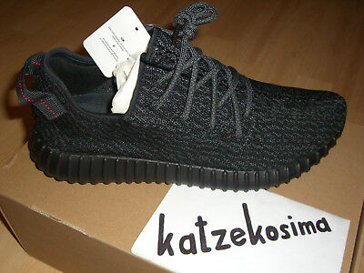 ade9aa3ba DS ADIDAS X KANYE WEST Yeezy Boost 350 Pirate Black 45 1 3 UK 10.5 ...