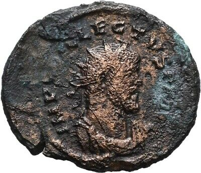 Lanz Roman Empire Allectus Britain Antoninianus London Londinium Pax Ml §kkm2689