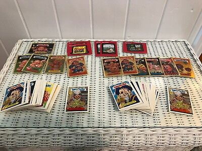 Garbage Pail Kids Collector Cards Stickers Lot / 136 Total Cards