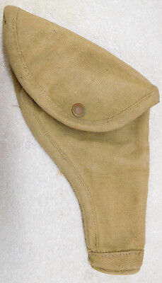 Original British Canvas Large Frame Holster-1942