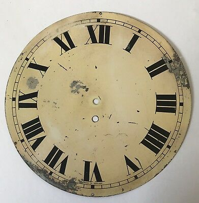 Vintage Wall Clock Dial with Numerals