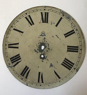 Antique Wall Clock Dial with Numerals