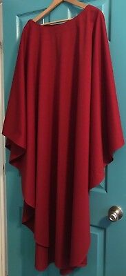 Nice Catholic Priests Solid Red Chasuble Vestment C.m. Almy & Son