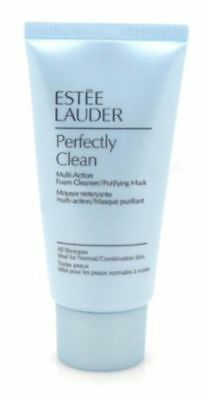 New! Estee Lauder Perfectly Clean Multi Action Foam Cleanser Mask 1 oz