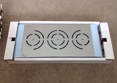 New Typhoon Ultimate Triple Curved Food Warmer Blue Table Top Candles