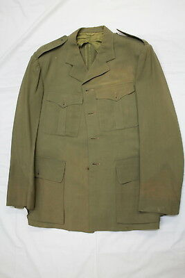 Post WW2 Canadian Officers TW Tropical Worsted Jacket No Buttons