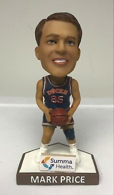 "Mark Price Akron Rubber Ducks Bobblehead Nodder 5"" NEW"