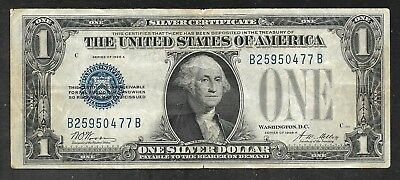US - 1 Dollar Silver Certificate - 1928A (Funny Back) - VF