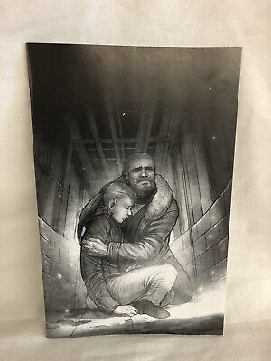 Image Walking Dead #167 15th Anniversary Issue Virgin B/W VAR by Sana Takeda