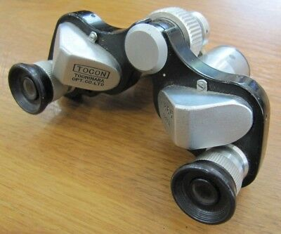 Vintage Tocon Tochihara Optical Co 7X18 6.5 Binoculars Field Opera Glasses Case