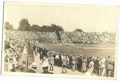 Baseball: Early Real Photo PC View; Unidentified; Large Crowd; Important Field