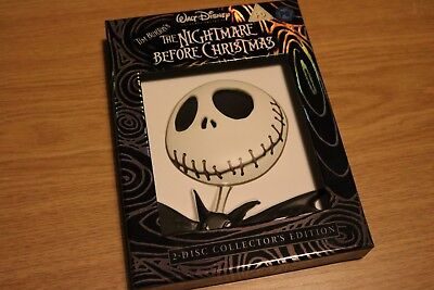 The Nightmare Before Christmas (DVD, 2008) 2-Disc Collectors Edition Tim Burton