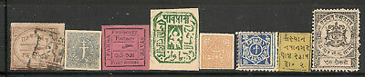 Indian States Lot From Old Collections