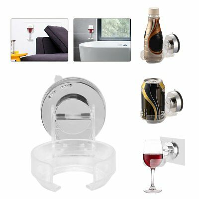Plastic Wine Holder Storage Beer Drink Wall Holder Support For Bathroom Kitchen