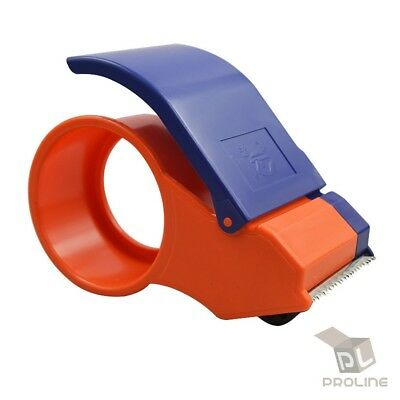 "Portable Tape Dispenser Packing Packaging Sealing Cutter Heavy Duty 2"" Inch"