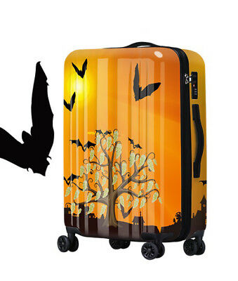 A411 Fashion Universal Wheel ABS+PC Travel Suitcase Luggage 24 Inches W