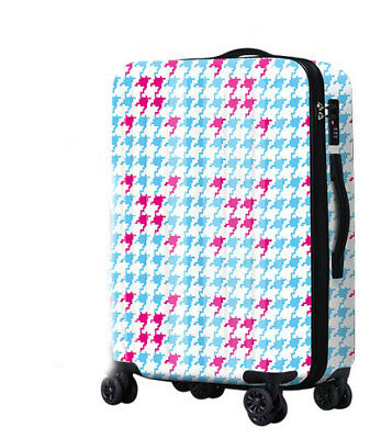 A533 Lock Universal Wheel Swallow Gird Travel Suitcase Luggage 20 Inches W