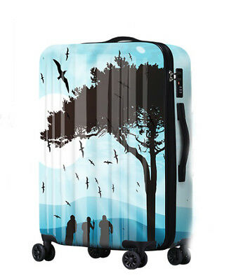A468 Fashion Portable Universal Wheel ABS+PC Travel Suitcase Luggage 24 Inches W