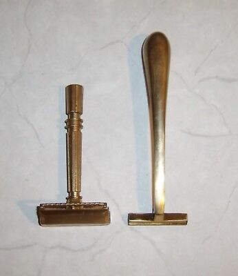 RAZOR Gem Micromatic Clog Pruf 1930 Vintage Shaving Lot
