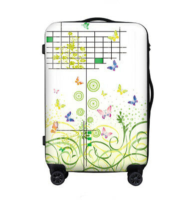 A357 Fashion Lock Universal Wheel Travel Suitcase Cabin Luggage 24 Inches W