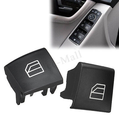 1Pcs Left Window Switch Replacement Button Cover Cap For Mercedes Benz W245 W169