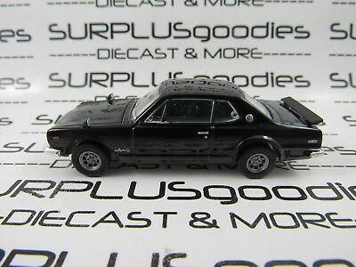 Greenlight 1:64 LOOSE Collectible Black 1971 NISSAN SKYLINE 2000 GTR Diorama Car