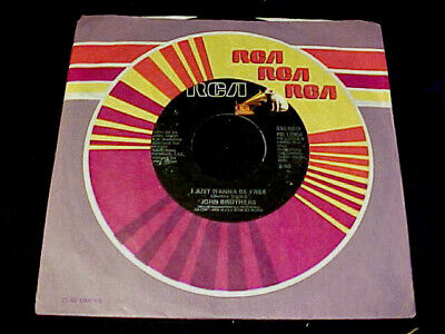 70s NORTHERN SOUL 45 JOHN BROTHERS I Just Wanna Be Free ORIGINAL RCA issue HEAR