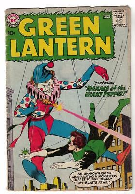 DC Comics GREEN LANTERN Menace of the Giant Puppet  4.0 1 issue silver age