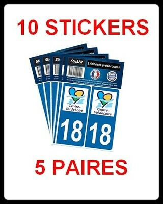 supstick 2 STICKERS AUTOCOLLANT PLAQUE IMMATRICULATION DEPT 68 Grand Est