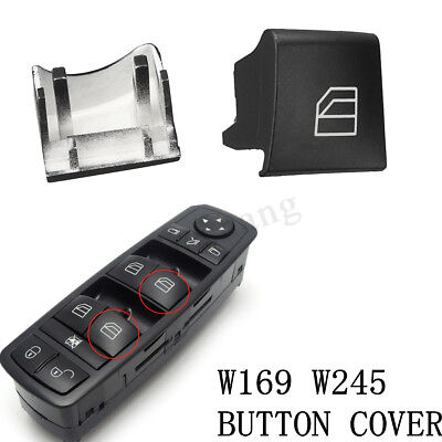 For Mercedes A B Class W245 W169 Window Switch Driver Side Right Button Cover